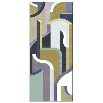 Ornamenta Operae Керамическая плитка 120х278см, настенная, декор: Maze Green
