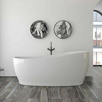 Knief Relax Ванна отдельностоящая 180х85х62/76см, цвет белый