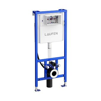 Laufen Installation System Инсталляция с бачком для подвесного унитаза, со встроенной трубой для подачи воды, двойной слив 4,5/3 л, регул. до 6/3 л
