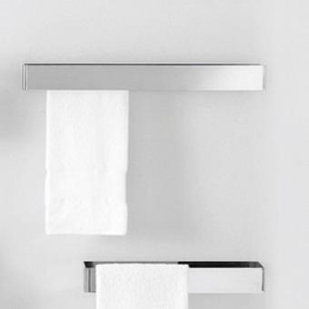 Agape 369 Двойной полотенцедержатель, 48см, цвет: глянец