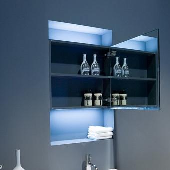Antonio Lupi Зеркальный шкафчик 54х15.5х50 см с 1 дверцей и 1 полкой
