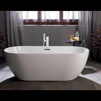 Noken Lounge Oval Ванна 170х75см., отдельностоящая, цвет: беый
