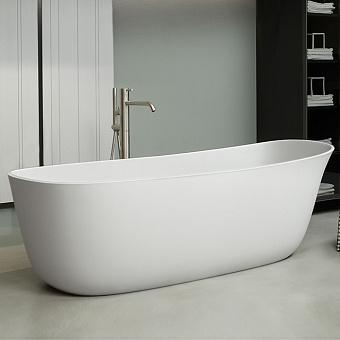 Antonio Lupi Dafne Ванна отдельностоящая 170х71.6х56см, цвет: белый