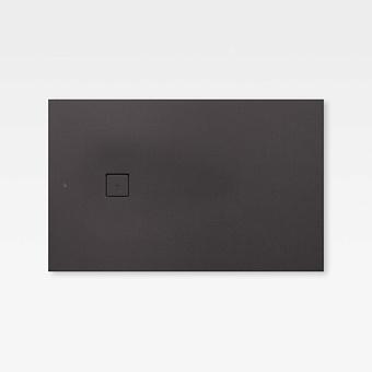 Armani Roca Baia Душевой поддон 160х100х3.1см с боковым сливом, с anti-slip, мат-л: Stonex, цвет: dark metallic