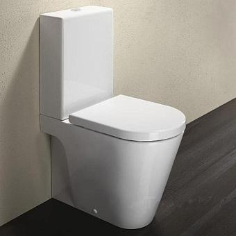 Catalano Zero Унитаз моноблок 62х35 см, с крепежом и сиденьем, цвет: белый