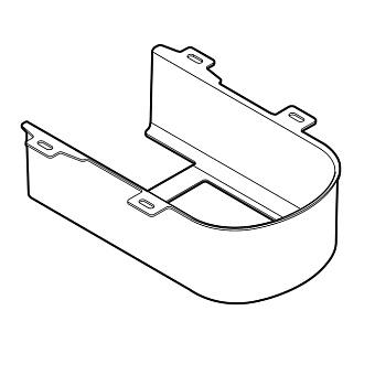 TOTO SG Пластиковая панель для подвесного унитаза CW512YR, цвет: белый