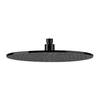 Bongio Soffioni Верхний душ D300 мм, цвет: черный матовый