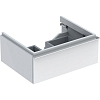 Geberit iCon Тумба с раковиной 59.5х24х47.7см, с 1 отв., подвесная, с одним выдвижным ящиком, цвет: белый