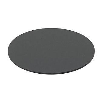 Artceram Vogue Полка круглая, для консоли ACA054, ACA058, керамика, цвет: черный матовый
