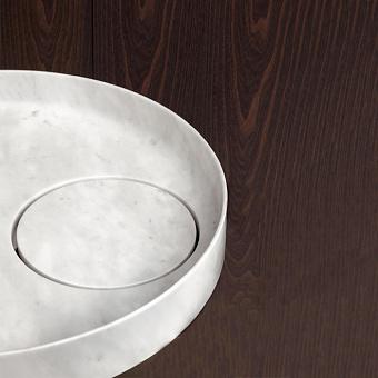 Falper Eccentrico Раковина 56x56x14 см, накладная, цвет: мрамор Carrara