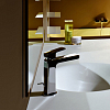 Zucchetti Jingle Однорычажный смеситель для раковины на 1 отверстие с удлиненным изливом и донным клапаном, цвет хром