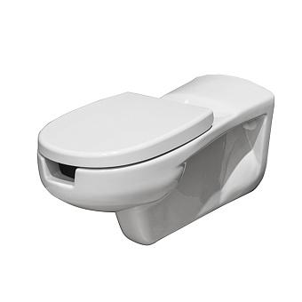 Noken Easy PMR Унитаз подвесной 75х36.4см., с трубой подвода воды длиной 30см., цвет: белый