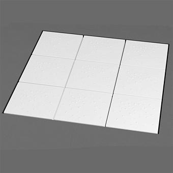 Flaminia Albero Модульный душевой поддон 128x128x h: 5см, цвет: белый