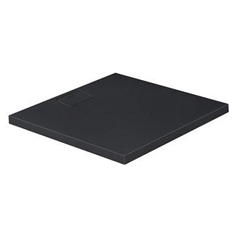 Duravit  Stonetto Поддон композитный квадратный  900x900х50mm, d90, цвет Антрацит