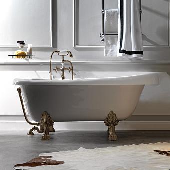KERASAN Retro Ванна new 170х77/66см, глубина ванны 44,5см, цвет белый, ножки бронза
