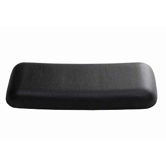 BETTE Relax Подушка 34х12х4,5 см универсальная для ванны на магнитах (комплект: 2 шт.), цвет: чёрный