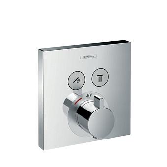 Hansgrohe ShowerSelect Смеситель для душа, термостатический, 2 источника, цвет: хром