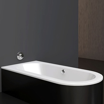 BETTE Starlet II Ванна 185х85х42 см, с шумоизоляцией, BetteGlasur® Plus, цвет: белый