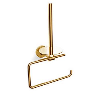 Bertocci Cinquecento Держатель для туалетной бумаги с держателем для запасного рулона, подвесной, цвет: золото