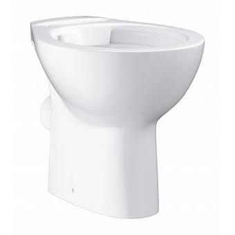 Grohe Bau Ceramic Унитаз 52x36 см, напольный, слив в стену, цвет: белый
