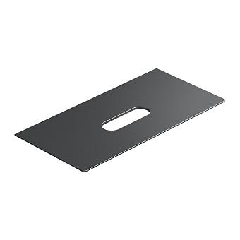 Catalano Horizon Столешница керамическая 120х25хh11см, подвесная/накладная, цвет: черный глянцевый
