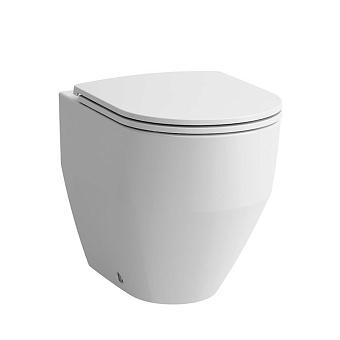 Laufen Pro Унитаз напольный приставной, безободковый 36х53х43 см, слив универсальный, цвет: белый
