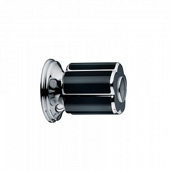 Bongio Fleur Noir, Кран, цвет: хром/черный фарфор