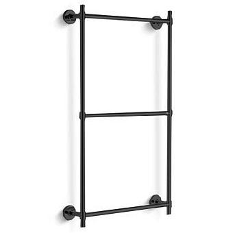 Bertocci Cinquecento Полотенцедержатель тройной 60х60 см, цвет: черный матовый