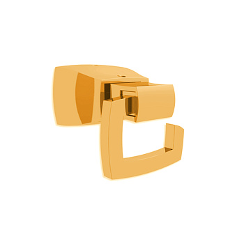 Bertocci Grace Крючок, цвет: золото матовое