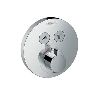Hansgrohe ShowerSelect S Термостатический смеситель, цвет: хром