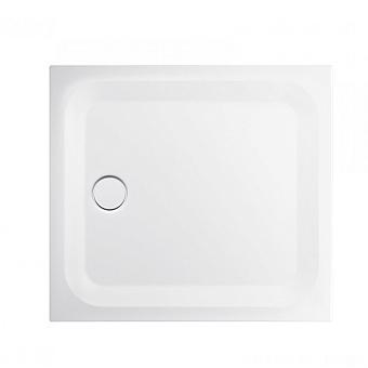 BETTE ULTRA Душевой поддон квадратный 100х100см, с отв-м слива d=9см, с шумоизоляцией, цвет: белый