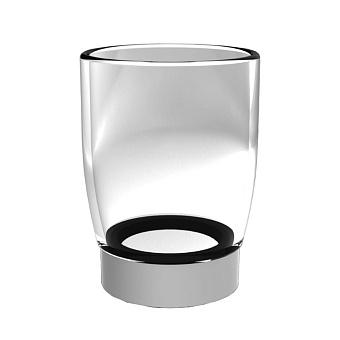 Stella Bamboo Держатель стакана или мыльницы подвесной (без стакана и мыльницы), цвет: хром
