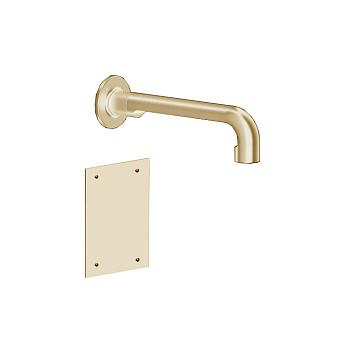 Gessi Inciso Смеситель для раковины, встраиваемый, электронный, излив: 21.5см., цвет: золото