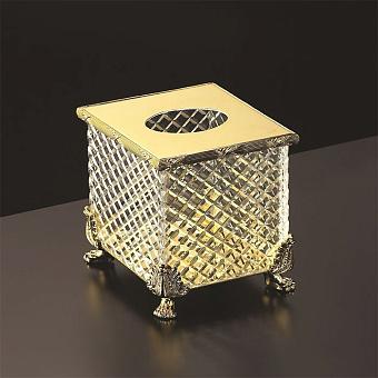 Cristal et Bronze Prestige Диспенсер для бумажных полотенец на львиных лапах, цвет: золото