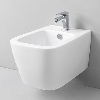 Artceram A16 Биде подвесное 36х52 см, 1 отверстие, цвет: матовый белый