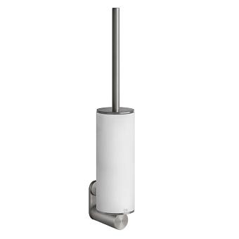 Gessi 316 Ершик настенный, цвет: шлифованная сталь/белый