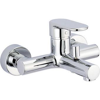 CISAL LineaViva Смеситель однорычажный настенный для ванны/душа, цвет хром