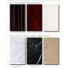 Karol Bania comp. №11, комплект подвесной мебели 140 см. цвет: Белый глянцевый фурнитура: хром