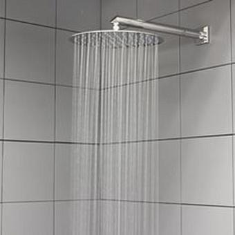 Antonio Lupi Braccio Настенный верхний душ, Ø 25см, длина: 33см, цвет: полированная сталь