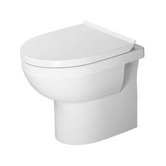 Duravit DuraStyle Basic Унитаз напольный 37x48см, безободковый, с сиденьем, цвет: белый
