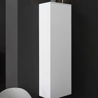 Laufen Kartell Шкаф подвесной, 400х270х1300мм, с 1 дверцей, 4 стек. полки, SX, цвет: белый матовый