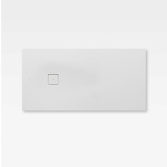 Armani Roca Baia Душевой поддон 160х80х3.1см с боковым сливом, с anti-slip, мат-л: Stonex, цвет: off-white
