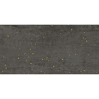 Lea Ceramiche Concreto Керамогранит 60x120x0.6см, универсальный, неглазурованный, декор drops gold, цвет: dark/противоскользящая