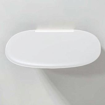 Colombo Complementi В9637BI Сиденье для душа с креплениями к стене, белое