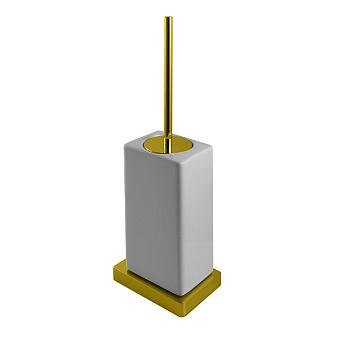 Noken Lounge Ёршик для унитаза для унитаза, подвесной, цвет: золото