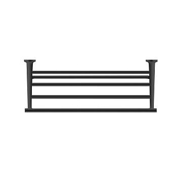 Duravit Starck T Полочка для полотенец 61x23.2см, подвесная, цвет: черный матовый
