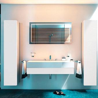 Keuco Edition 300 Комплект мебели 125x52.5х15.5 см, белый