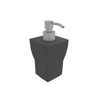Bertocci Grace Дозатор настольный, цвет: черная керамика/хром