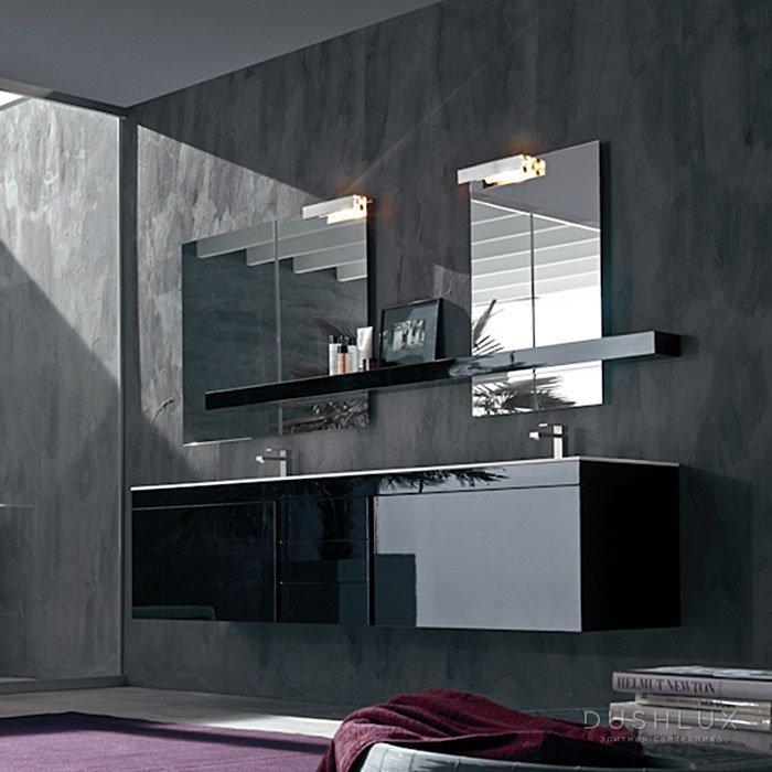 Karol Manhattan comp. №12, комплект подвесной мебели 235 см. цвет: Nero Lucido