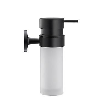 Duravit Starck T Дозатор для мыла, подвесной, цвет: черный матовый